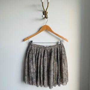 BCBG Generation leopard pattern skirt